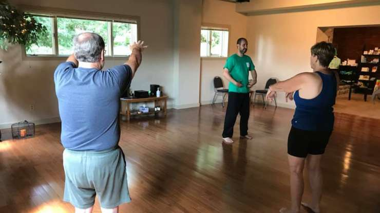 Tai Chi for Stress Relief Seminar on Saturday, Oct 13th